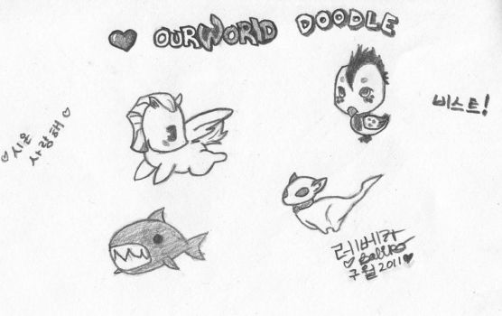 OurWorld Doodle by BBChild