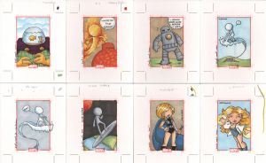 marvel 70th anniversary cards5 by katiecandraw