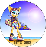 Let's surf by FOX-POP