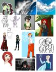 Time for another sketchdump by Tao-mell