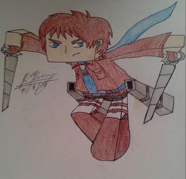 Attack On MineCraft Contest My Entry by EnderMinerRaph