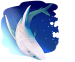 space shark by ChaoticGlub