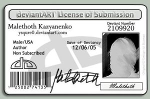 License of Submission by ysqure0