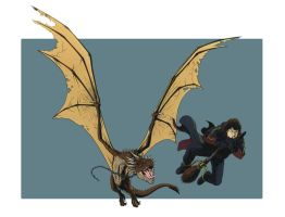HORNTAIL and the FIREBOLT by Jerome-K-Moore