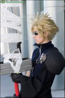 Cloud Strife -Advent Children by pikminlink