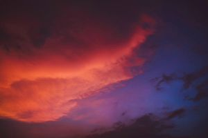 Cotton Candy Clouds by drwhang