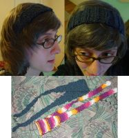 Knitting: headbands for sale if want? by gutter-child