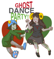ghost parptay by Riilith