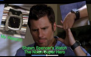 i have shawns watch by ElizzaBeast