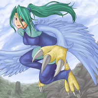 Request: Harpie Queen by DigitalYoshi