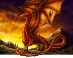 Red Dragon by Sumerky