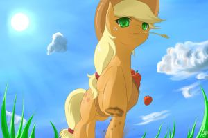 Applejack Cover by MrIcantdraw