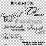 Text Brushes by Ilsjes