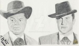 Wild Wild West - Jim and Artie by rjoyhelvie