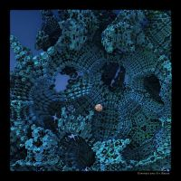 MB11 Blue Fractal by Xantipa2