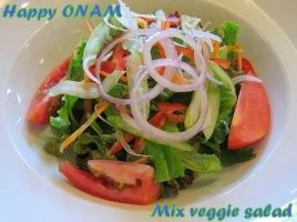 Mix veggie salad by spagofusion