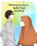 ((Waiting for you is better than couple)) by Anakoneko