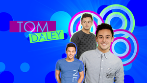 Tom Daley Wallpaper by J4MESG