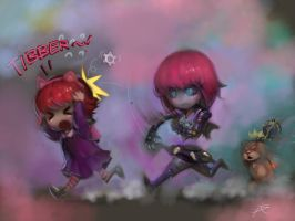 Finger Painting -I hAve ShArp tHinGs. by ptcrow