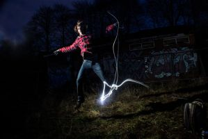 Long Exposure + Flash Gun 5 by adamjamescooper