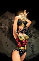 Wonder Woman colors by nahp75