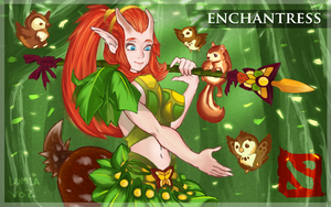 DotA 2 Enchantress by CyberBladeVN