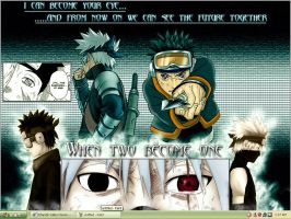 Obito and Kakashi by Teh-Great-Ippeh