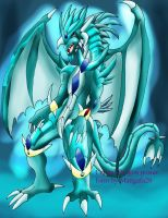 Crystal dragon  Absalon power form by mangafa20