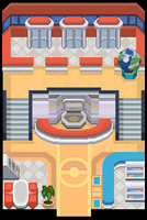 New BW Pokemoncenter Indoors by cleystation