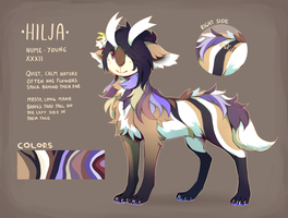 Hilja / Reference sheet by VlLHO