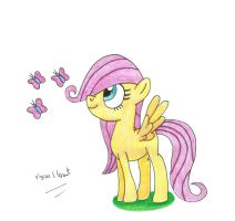 Filly Fluttershy Mk2 by UlyssesGrant