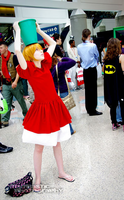 Ponyo cosplay by squkyshoes