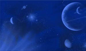 Planets and Stars Background by WDWParksGal-Stock