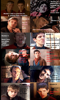 Merlin: Funny Face Contest by FreakyFangirl97