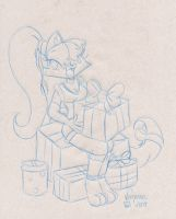 Merry Christmas - Sketch by Fificat
