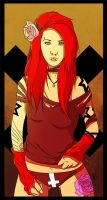 Red Head by loulaLETHAL