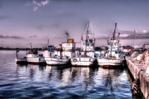 Fishing Boats @ Igneada in Turkey by vicymarine