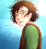 HtTYD - Hiccup's Hair by feshnie