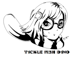 avi-art for t1ckle m3h d1no by angelmolly