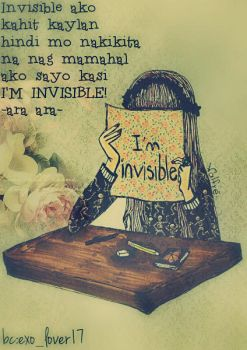 im invisible by JellyVin21