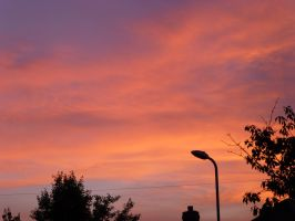 Stunning Sunset Over Thornaby 3 by illusiveexistence