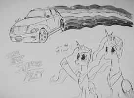 Two Best Sisters Play: The PT Cruiser!! by Ricky47