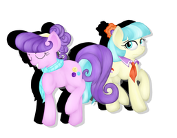Suri Polomare and Coco Pommel by cooler94961