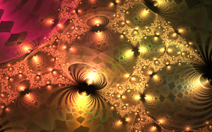 colourful metallic forms with pattern by Andrea1981G