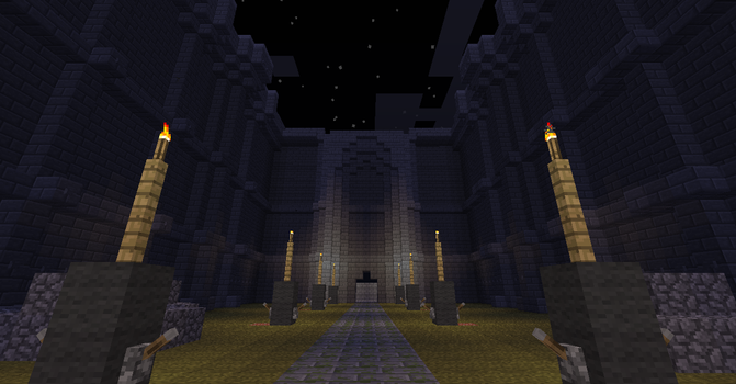 Ico Castle in Minecraft 3 by psycho-pigeon