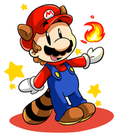 Chibi Mario by Crashkirby888