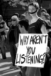 Why Aren't You Listening? bw by StudioFovea