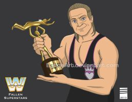 WWE Fallen Superstars: Owen Hart by EadgeArt
