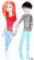 James and Lily by Tonks-Lupin