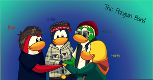 Penguin Band by Rapunzelwapa